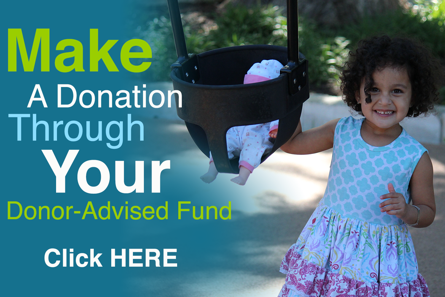 Make a donation through your donor advised fund.