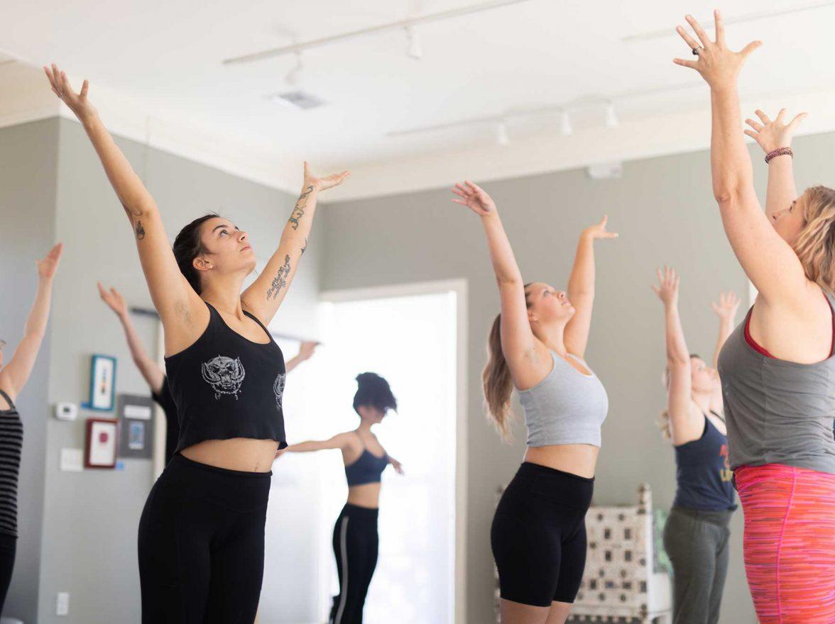 Blue Cat Yoga Studio at Hemisfair
