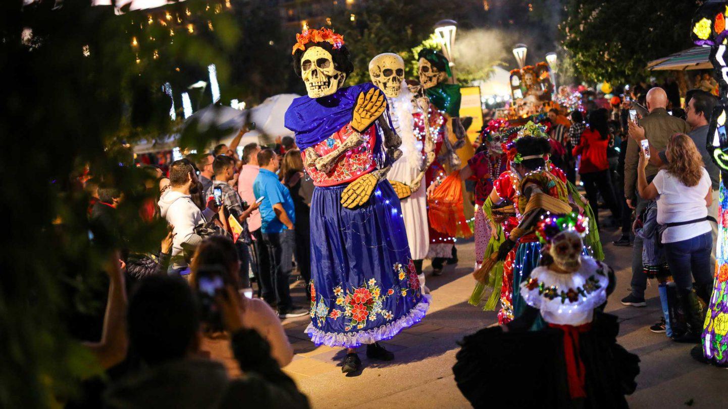 Muertos Fest 2019 at Hemisfair