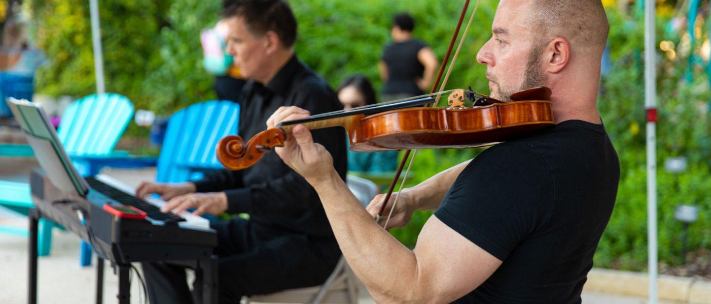 Musicians at Hemisfair