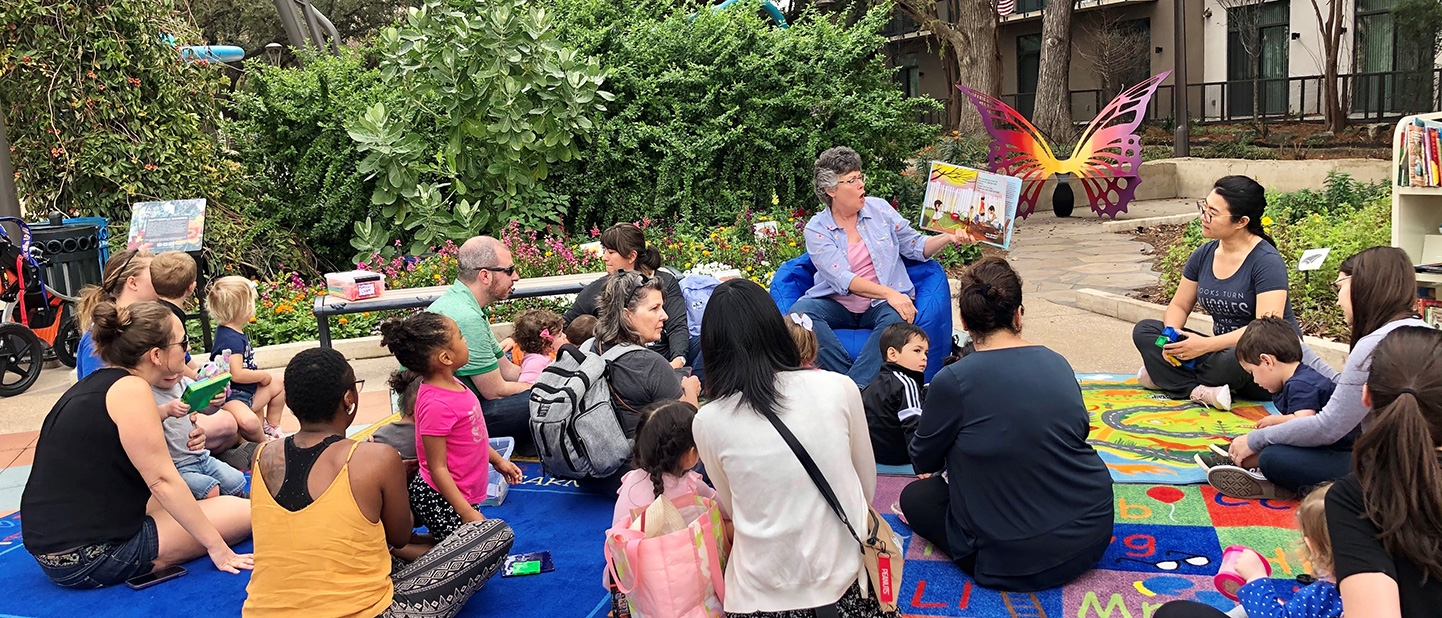 Story Time at Yanaguana Garden