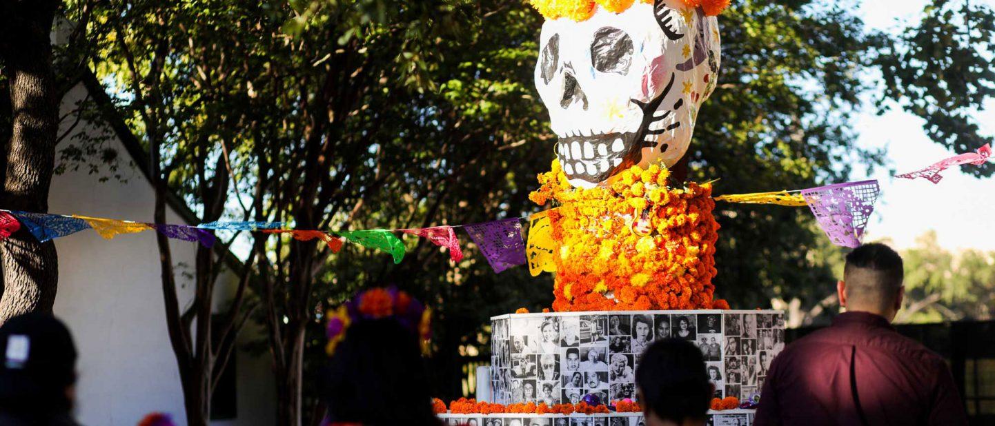 Dia De Los Muertos Community Altar
